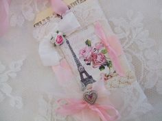 Shabby chic tag ♥ love
