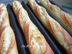 French home made Baguettes Baguettes faites maison Baguete caseira