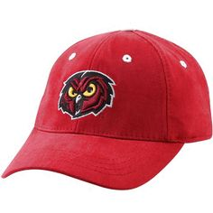 Top of the World Temple Owls Youth Cherry Basic Logo 1-Fit Hat - $14.39