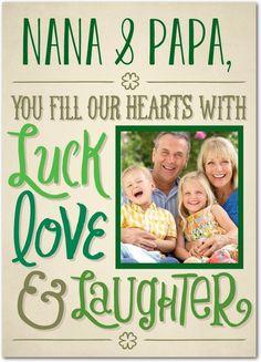 Blissful Hearts - St Patricks Day Cards in Sandstone | Magnolia Press
