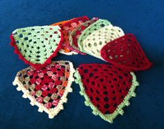 Crochet bunting made by Pammy Sue