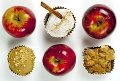Three autumn apple cupcake recipes