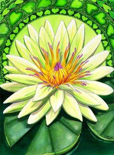heart chakra lotus