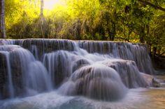 Kouangxi Water Fall, Laos PDR by kitty bern on 500px