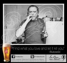 Grandes BeerLover's Charles Bukowski