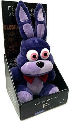 """Officially Licensed Five Nights At Freddy's 10"""" Boxed Bonnie Plush Toy"""