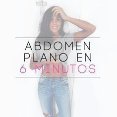 Cómo tener un abdomen plano en 6 minutos - Choose the Best Website Hosting with uptime. The best security that no one can hack to your hosting - Health Trends, Health Tips, Health And Wellness, Health And Beauty, Health Fitness, Health Care, Herbal Remedies, Natural Remedies, At Home Workouts