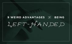 9 Weird Advantages of Being Left Handed - Education and Career News Left Handed Problems, Left Handed Facts, Left Handed Crochet, When To Let Go, Left Out, August 13, Career Education, Learning Tools, Interesting Stuff
