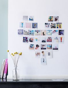 #DIY Organize your polaroids - #101woonideeen.nl - Dutch interior and crafts magazine