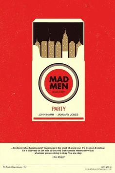 Inspiration / mad men by olly moss