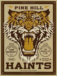 Pine Hill Haints - Aaron Gresham // Creative Director + Brand Designer