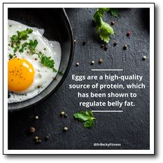"""We'll start with one of the most versatile low carb foods, which is the egg. Eggs are the complete package with a great mix of nutrients that help you lose belly fat."" Burn Belly Fat, Healthy Weight Loss, Low Carb Recipes, Protein, Diet, Food, Low Carb, Eten, Get Skinny"