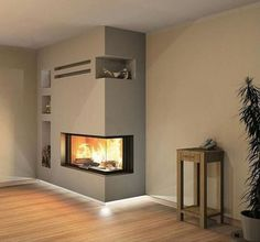 7 Easy to Do Fireplace Updates - Fireplace Tip[s & Tricks - Tv Over Fireplace, Home Fireplace, Modern Fireplace, Living Room With Fireplace, Fireplace Design, Living Room Decor, Fireplaces, Living Area, Interior Design Living Room