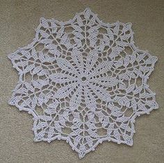 Ravelry: Autumn Reflections Doily pattern by Cylinda Mathews