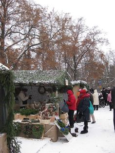 Christmas fair in Lohja. Photo by Petra