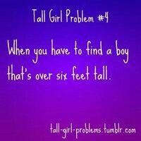 perks of dating a taller girl