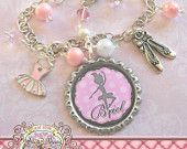 Personalized Children's BALLET Charm Bracelet, DANCE, Ballet Jewelry, Slippers Charm, Tutu Charm, Dance Recital Gift, Christmas Present