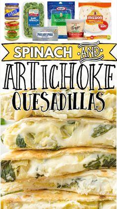 Mexican Dishes, Mexican Food Recipes, Mexican Meals, Appetizer Recipes, Dinner Recipes, Appetizers, Dinner Ideas, Artichoke Recipes, Good Food