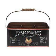 Farmer's Market Egg Tin 31