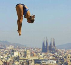 World Swiming Championships 2014 High Diving, Women's Diving, Diving Springboard, Barcelona Architecture, Swim Club, Sport Photography, Wet N Wild, Water Sports, Sports Women
