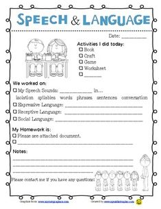 Quick and Easy Therapy Note to go home with parents. Saves so much time and provides an easy way to communicate with parents! Repinned by SOS Inc. Resources. Follow all our boards at pinterest.com/sostherapy for therapy resources.