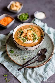 Blumenkohl-Suppe mit roten Linsen   Alles und Anderes