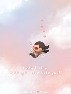 Check out the comic HJ-Story :: Falling (Girl ver.) Loved & pinned by… Hj Story, Cute Love Stories, Love Story, Love Is Sweet, What Is Love, Anime Chibi, Chibi Cat, Ah O Amor, Cute Love Cartoons