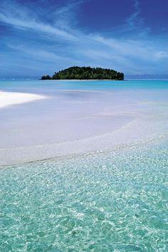 Aroa, Aitutaki, One Foot Island, Cook Islands
