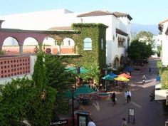 Downtown Santa Barbara.