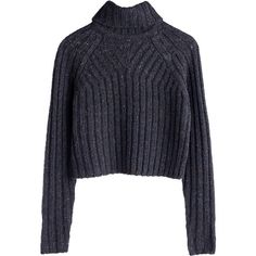 Weekday ❤ liked on Polyvore featuring tops, sweaters, jumpers, shirts, blue sweater, blue shirt, blue jumper, blue top and shirt sweater