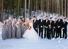 Bridal Party with Frances Photography.