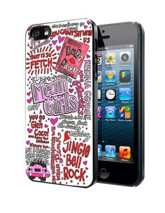 Mean Girls Lyrics Samsung Galaxy S3/ S4 case, iPhone 4/4S / 5/ 5s/ 5c case, iPod Touch 4 / 5 case