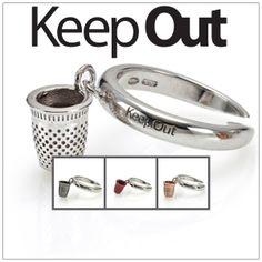 Anello collezione Keep Out Da un'antico costume dell'America del sud, nasce l'idea di Keep Out.  Per tradizione , le nonne sud americane regalavano a figlie, nipoti , e nuore, un ditale in argento, per proteggerle da ogni sorta di pericolo,  e tenere lontano malocchio e magie.