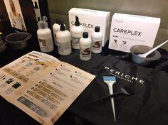 #Careplex  ¡Stop a la agresión en decoloraciones, tintes y permanentes!  Con el tratamiento CAREPLEX procesos como decoloraciones, tintes y permanentes dejan de ser tan agresivos para el #cabello. Consiste en un sistema escudo, fortalecedor y reparador.  Foto: Periche Profesional Taiwan