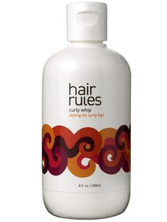 Hair Rules Curly Whip, a paraben-free styling cream that conditions, defines, and holds curls