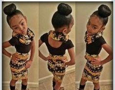 Cute hairstyles for black girl