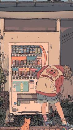 every Shit 𝑭𝒐𝒕𝒐𝒔 𝒂𝒆𝒔𝒕𝒉𝒆𝒕𝒊𝒄 art Anime art Shit 𝑭𝒐𝒕𝒐𝒔 𝒂𝒆𝒔𝒕𝒉𝒆𝒕𝒊𝒄 Aesthetic Iphone Wallpaper, Aesthetic Wallpapers, Aesthetic Anime, Aesthetic Art, Pretty Art, Cute Art, Japon Illustration, Digital Illustration, Retro Illustration