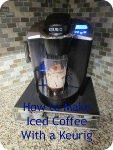 How to Make Ice Coffee With a Keurig
