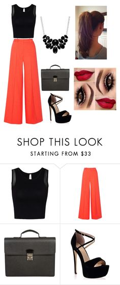 """Sem título #11"" by gabbs-758 ❤ liked on Polyvore featuring Milly, Louis Vuitton and Style & Co."