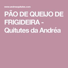 PÃO DE QUEIJO DE FRIGIDEIRA - Quitutes da Andréa Different Recipes, Just In Case, Bacon, Food And Drink, Low Carb, Cooking, Pastel, Delicious Recipes, Yummy Recipes
