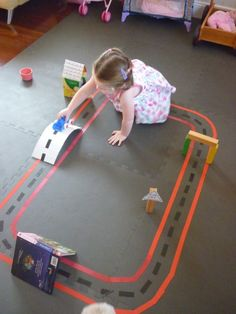 Build a race track in your living room