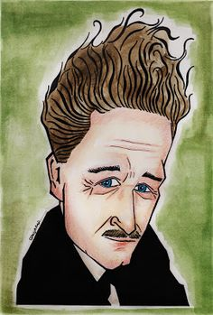 Portre Karikatür: Nazım Hikmet Karikatür