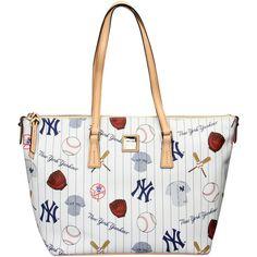 New York Yankees Dooney & Bourke Women's Zip Top Shopper - $248.00