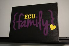 ECU Pirates Sign, ECU Family Sign, Pirate Sign, Greenville NC Personalized Custom Sign