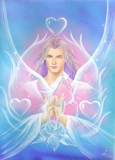 The Divine God Self is a beautiful expression of the Pure Divine Beauty of Father God... His purity & beauty radiates through all of existence... in all things... in all Beings... Beauty is of both the Masculine & Feminine Presence of deep & Pure Love ♥♥ With Love, Carolyn & Andy ♥♥ Beautiful Artwork ~ Artist Unknown
