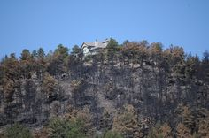 Home saved from Fourmile Canyon Wildfire, near Boulder, Colorado