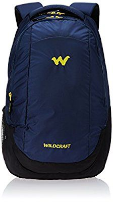 Wildcraft Turnaround Polyester 20 Ltrs Blue Laptop Bag