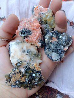 Rare Cerusite with Barite