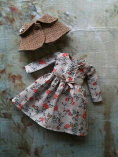 Sunday School Outfit Set for Blythe par moshimoshistudio sur Etsy