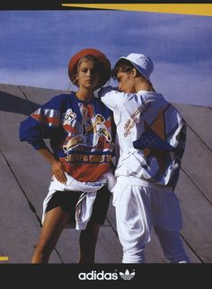 "vuittonable: "" adidas advertisement in vogue us september 1987 """